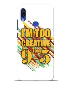 Too Creative Redmi Note 7S Mobile Cover