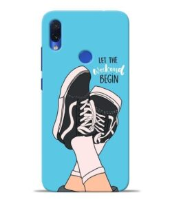 Weekend Redmi Note 7S Mobile Cover