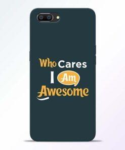 Who Cares Realme C1 Mobile Cover