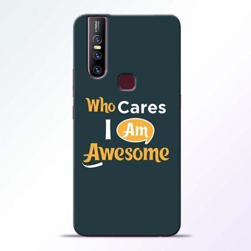 Who Cares Vivo V15 Mobile Cover