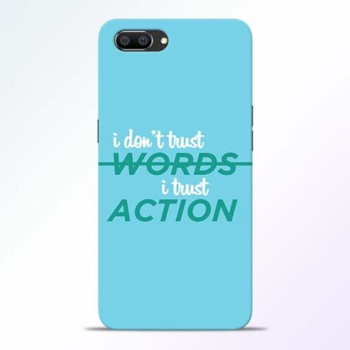 Words Action Realme C1 Mobile Cover