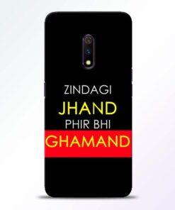 Zindagi Jhand Realme X Mobile Cover