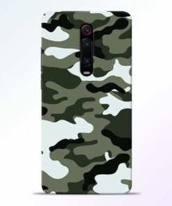 Army Camo Redmi K20 Mobile Cover