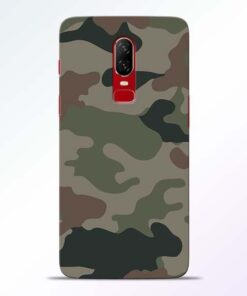 Army Camouflage OnePlus 6 Mobile Cover