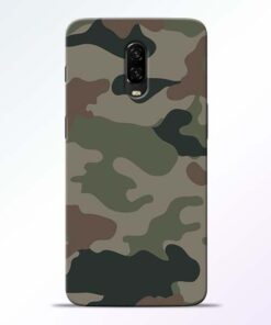 Army Camouflage OnePlus 6T Mobile Cover