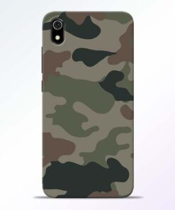 Army Camouflage Redmi 7A Mobile Cover