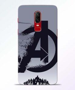 Avengers Team OnePlus 6 Mobile Cover