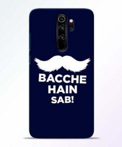 Bacche Hain Sab Redmi Note 8 Pro Mobile Cover