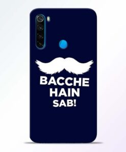 Bacche Hain Sab Xiaomi Redmi Note 8 Mobile Cover