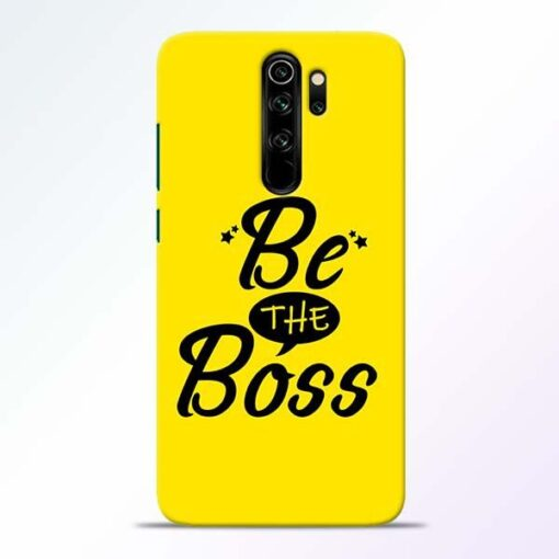 Be The Boss Redmi Note 8 Pro Mobile Cover