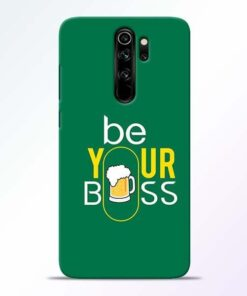 Be Your Boss Redmi Note 8 Pro Mobile Cover