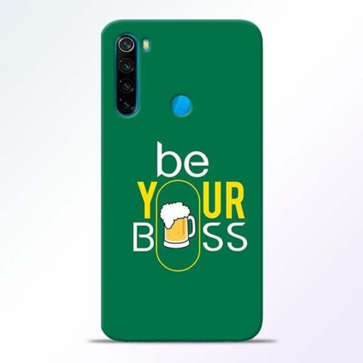 Be Your Boss Xiaomi Redmi Note 8 Mobile Cover