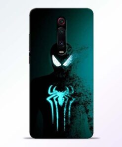 Black Spiderman Redmi K20 Mobile Cover