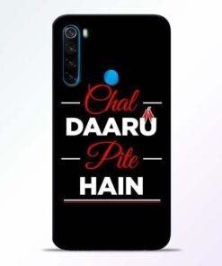 Chal Daru Pite H Xiaomi Redmi Note 8 Mobile Cover