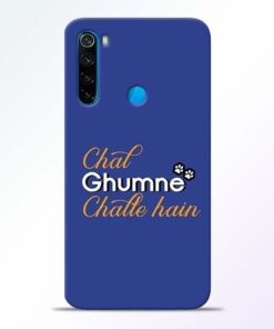 Chal Ghumne Xiaomi Redmi Note 8 Mobile Cover