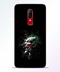 Crazy Joker OnePlus 6 Mobile Cover