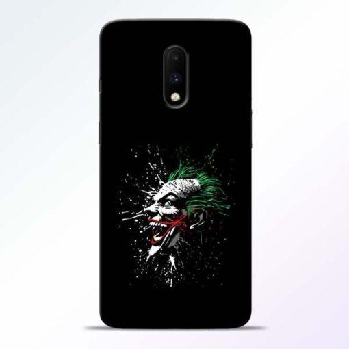 Crazy Joker OnePlus 7 Mobile Cover