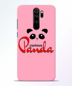 Curious Panda Redmi Note 8 Pro Mobile Cover