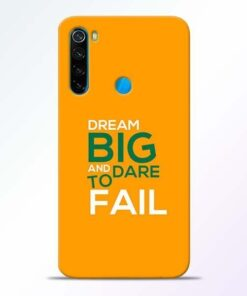 Dare to Fail Xiaomi Redmi Note 8 Mobile Cover