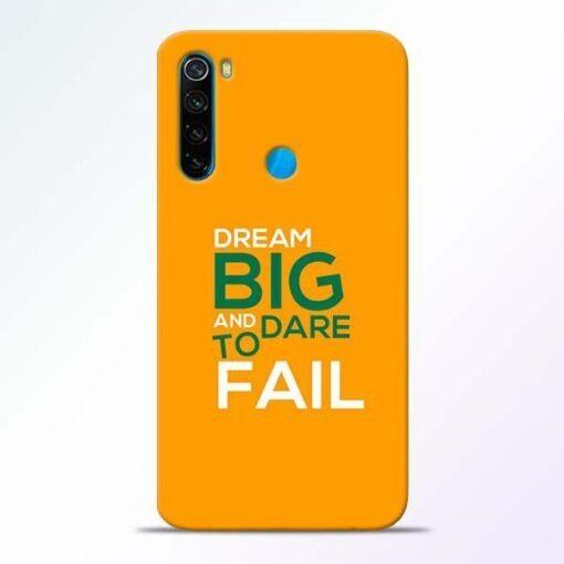 Dare to Fail Xiaomi Redmi Note 8 Mobile Cover
