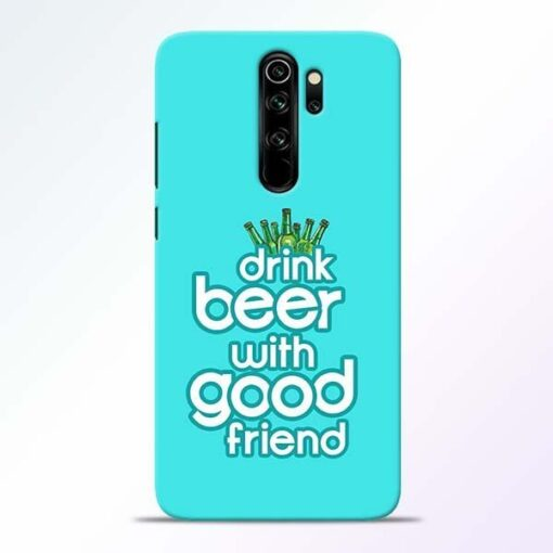 Drink Beer Redmi Note 8 Pro Mobile Cover