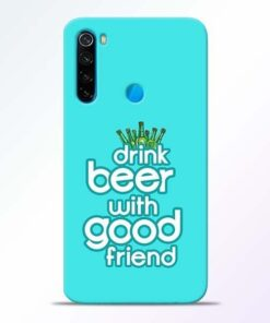 Drink Beer Xiaomi Redmi Note 8 Mobile Cover