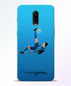 Football Kick OnePlus 6T Mobile Cover