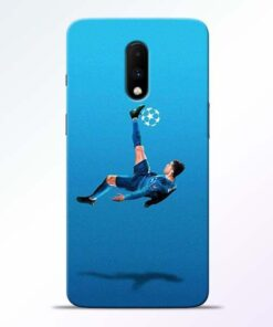 Football Kick OnePlus 7 Mobile Cover