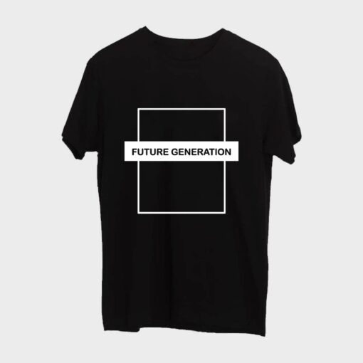 Future Generation T-shirt for Men - Black