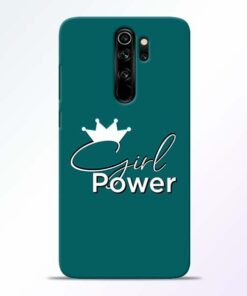 Girl Power Redmi Note 8 Pro Mobile Cover
