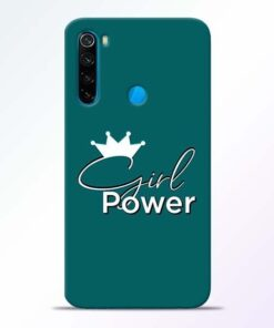 Girl Power Xiaomi Redmi Note 8 Mobile Cover