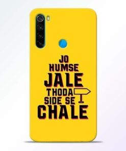Humse Jale Side Se Xiaomi Redmi Note 8 Mobile Cover