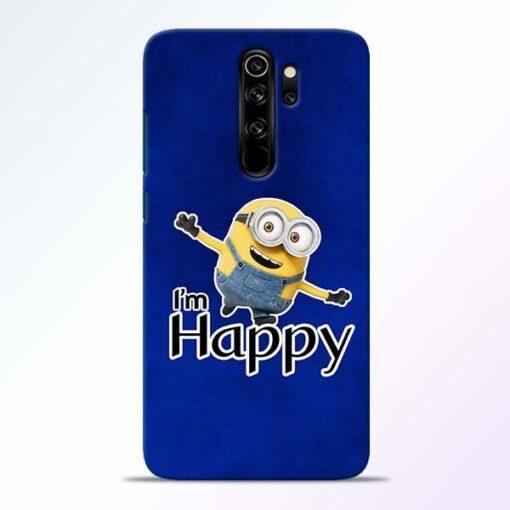 I am Happy Minion Redmi Note 8 Pro Mobile Cover