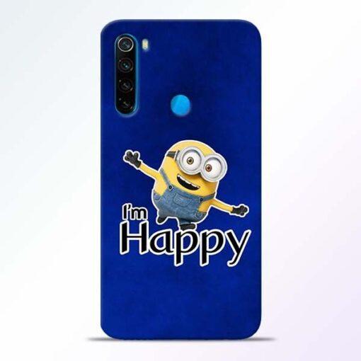 I am Happy Minion Xiaomi Redmi Note 8 Mobile Cover