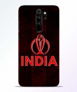India Worldcup Redmi Note 8 Pro Mobile Cover
