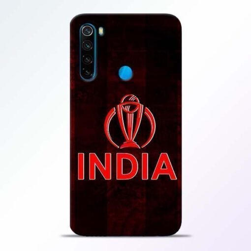India Worldcup Xiaomi Redmi Note 8 Mobile Cover