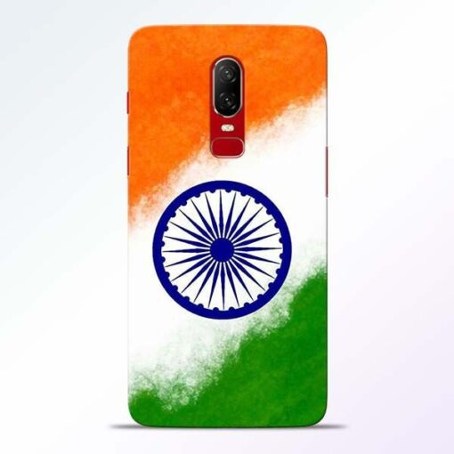 Indian Flag OnePlus 6 Mobile Cover