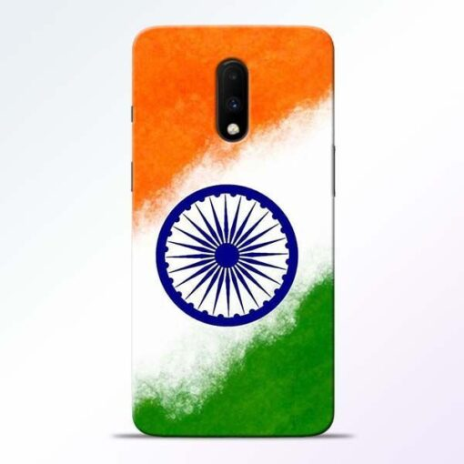 Indian Flag OnePlus 7 Mobile Cover