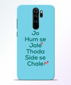 Jo Humse Jale Redmi Note 8 Pro Mobile Cover