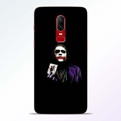 Joker Card OnePlus 6 Mobile Cover