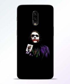 Joker Card OnePlus 6T Mobile Cover