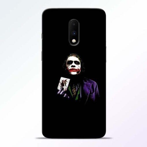 Joker Card OnePlus 7 Mobile Cover