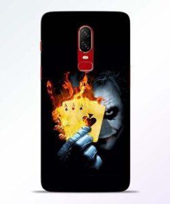 Joker Shows OnePlus 6 Mobile Cover