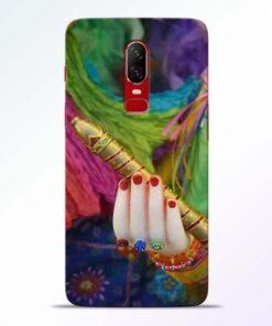 Krishna Hand OnePlus 6 Mobile Cover