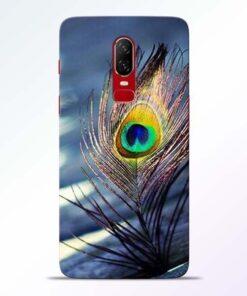Krishna More Pankh OnePlus 6 Mobile Cover