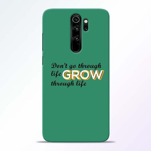 Life Grow Redmi Note 8 Pro Mobile Cover