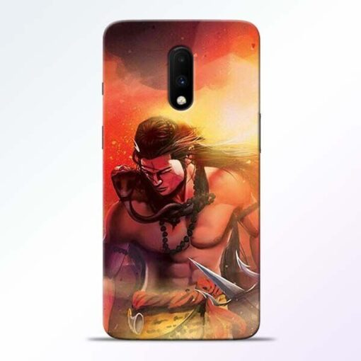 Lord Mahadev OnePlus 7 Mobile Cover