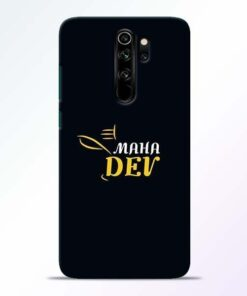 Mahadev Eyes Redmi Note 8 Pro Mobile Cover