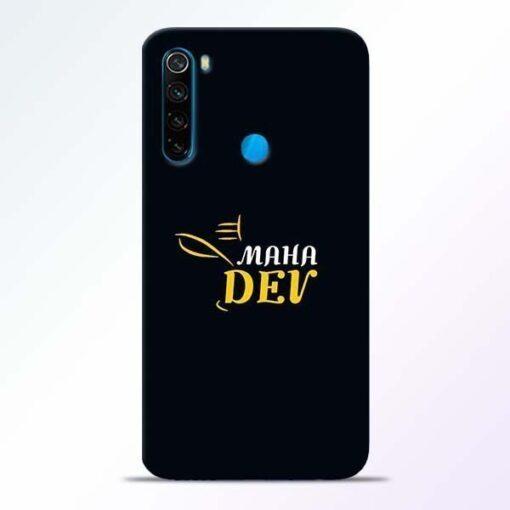 Mahadev Eyes Xiaomi Redmi Note 8 Mobile Cover