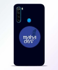 Mahadev God Xiaomi Redmi Note 8 Mobile Cover